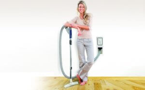 ducted vacuum with hide a hose